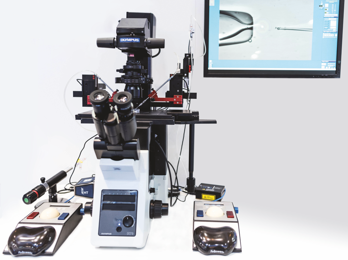 trakjector micromanipulators full system