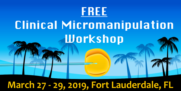 2019 Clinical Micromanipulation Workshop